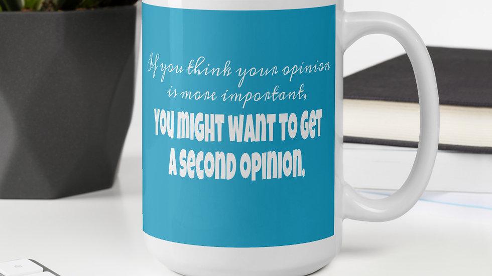 Second Opinion Mug