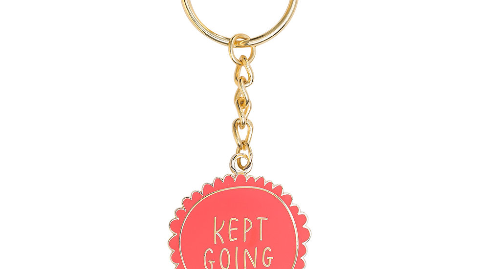 Kept Going Keychain