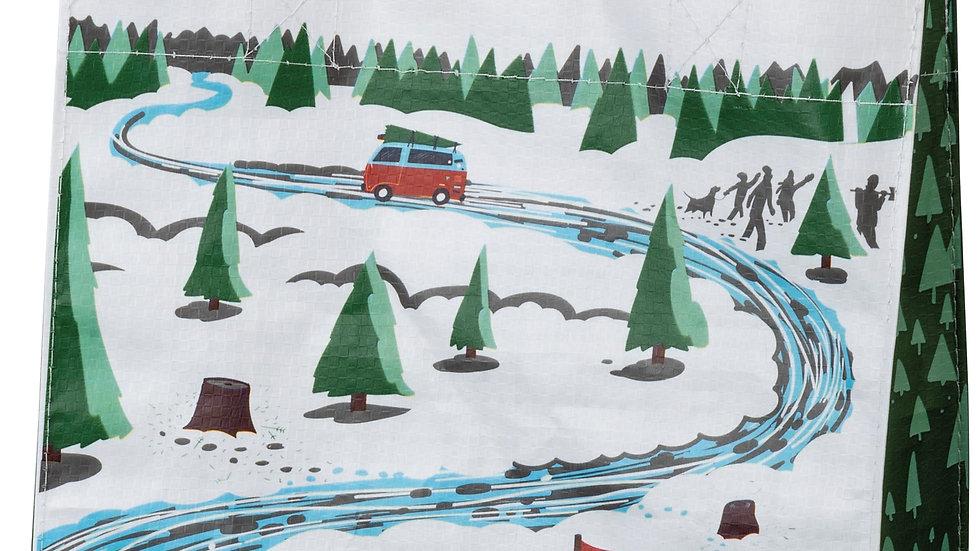 Christmas Tree Truck Tote