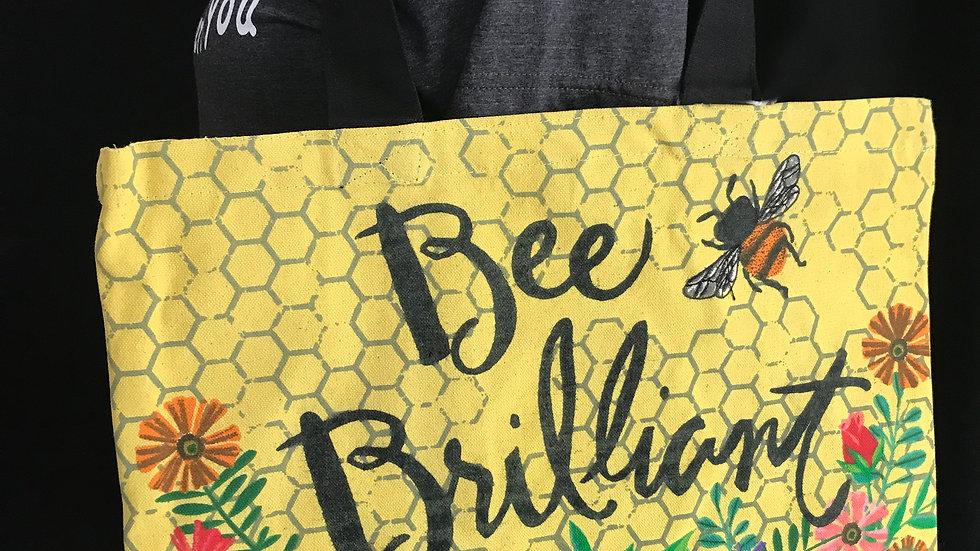 Bee Brilliant Tote