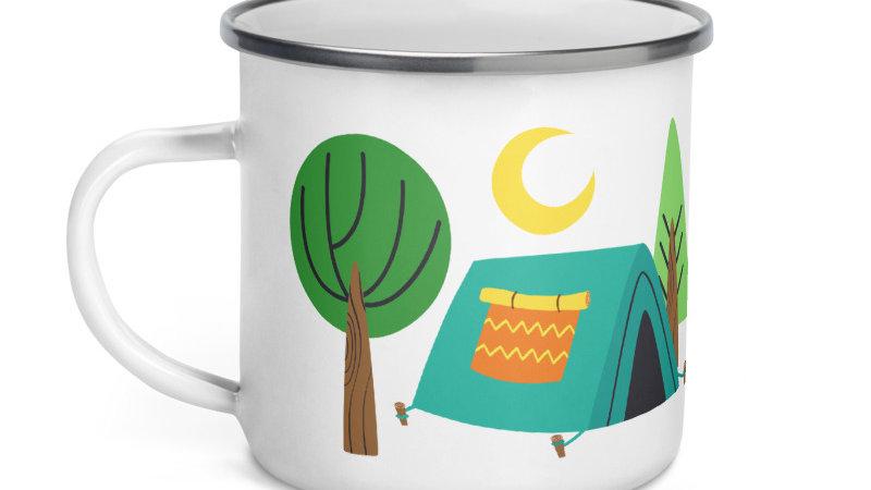 Light My Fire Tent Camping Enamel Mug