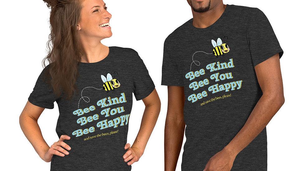 Bee Kind Bee You Bee Happy Tee copy