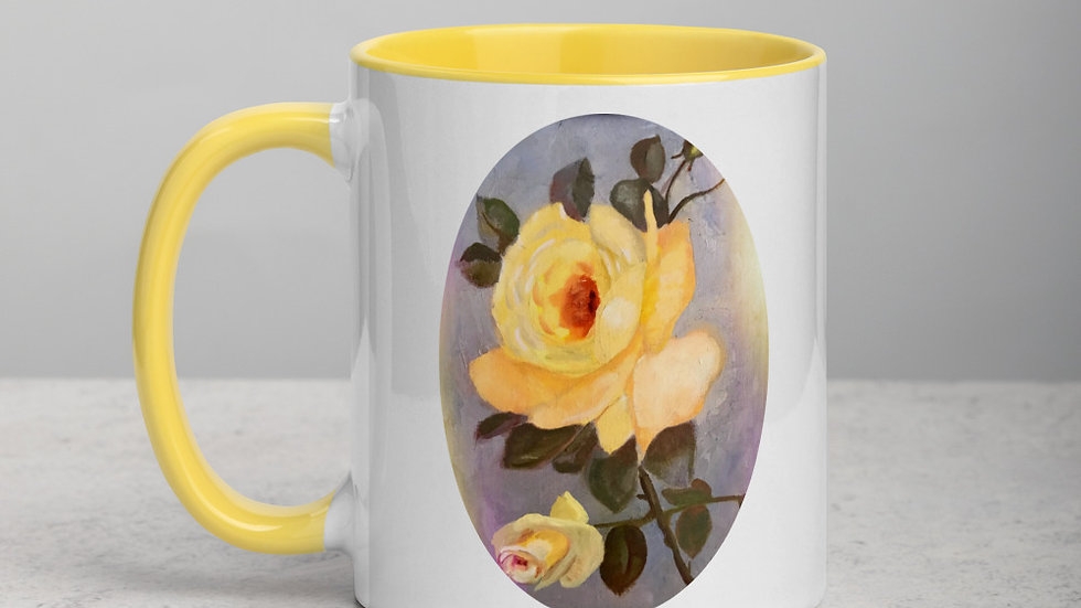 Yellow Roses Mug