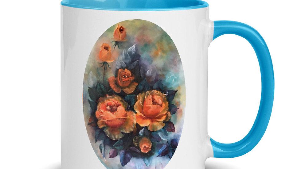 Orange Roses Mug