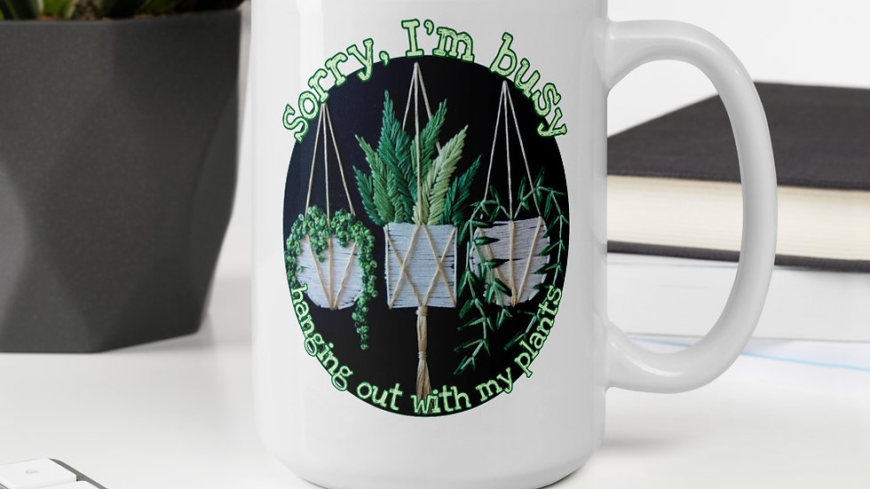 Hanging with My Plants Mug