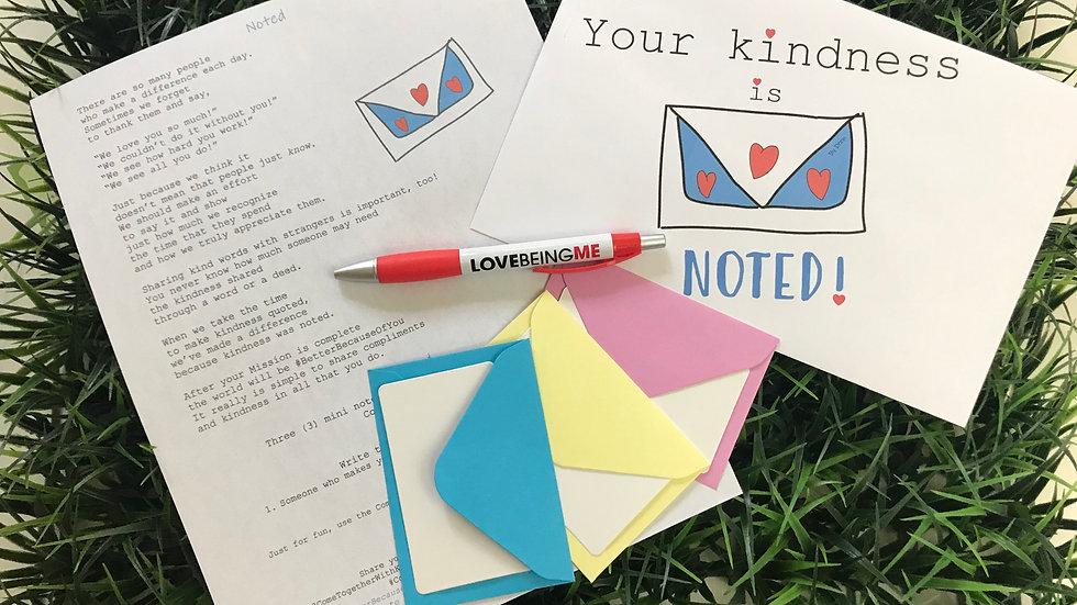 NOTED Kindness Kit