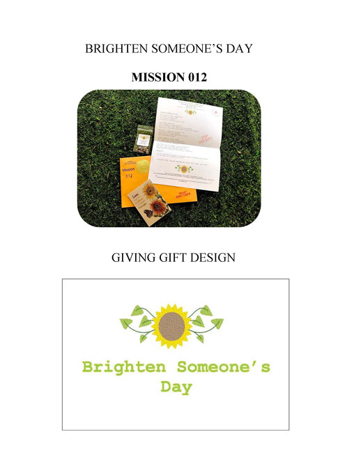 12 Brighten Someone's Day