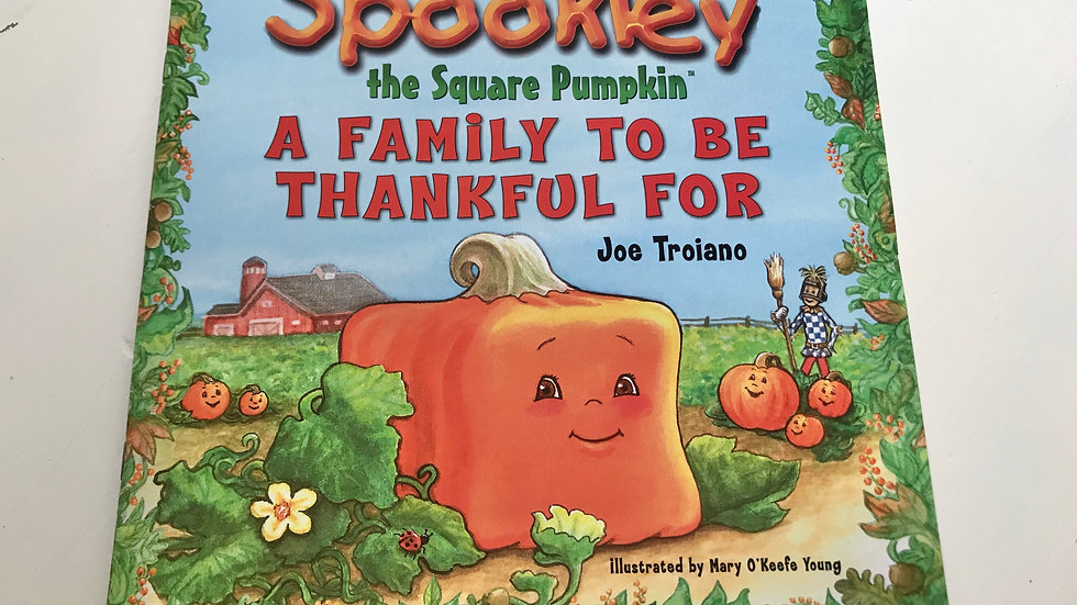 Spookley Thanksgiving Book