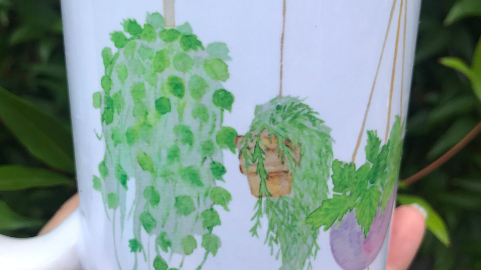 Busy Hanging with My Plants Mug