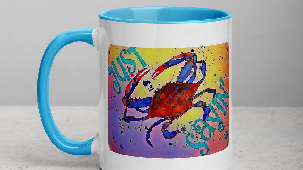 Just Sayin' Crab Mug