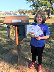 Free Little Library at The Green