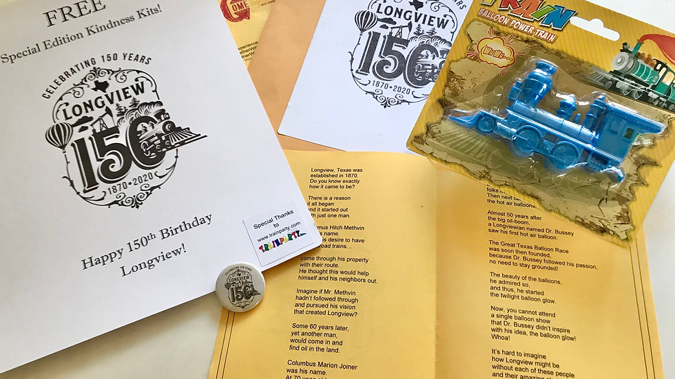 Longview 150th Kindness Kit