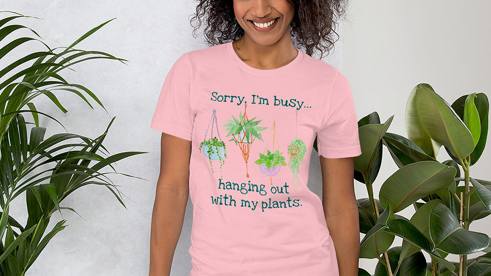 Hanging with My Plants Tee