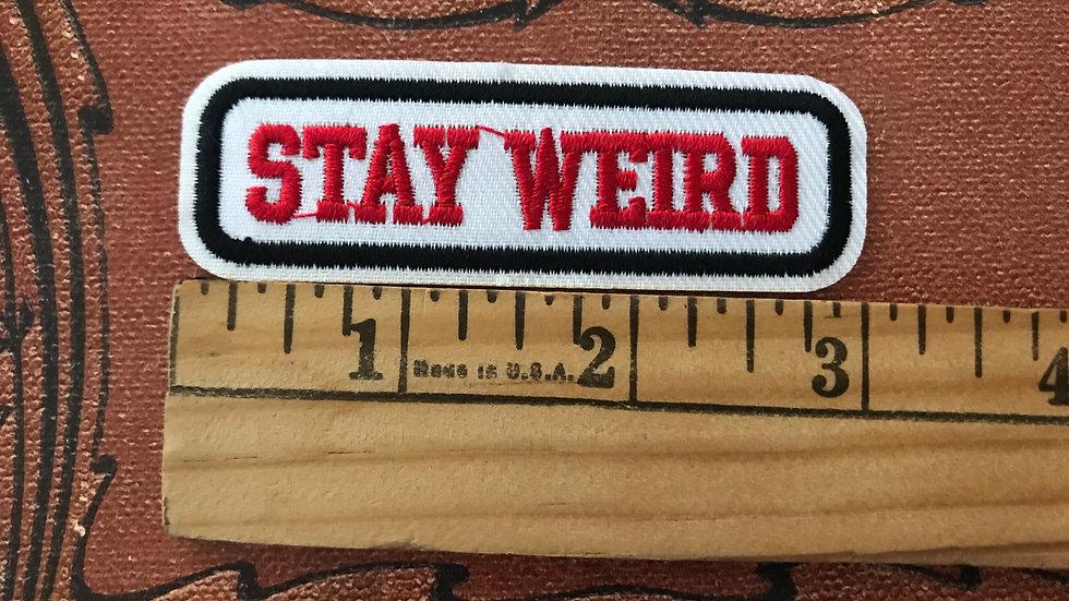 Stay Weird Patch