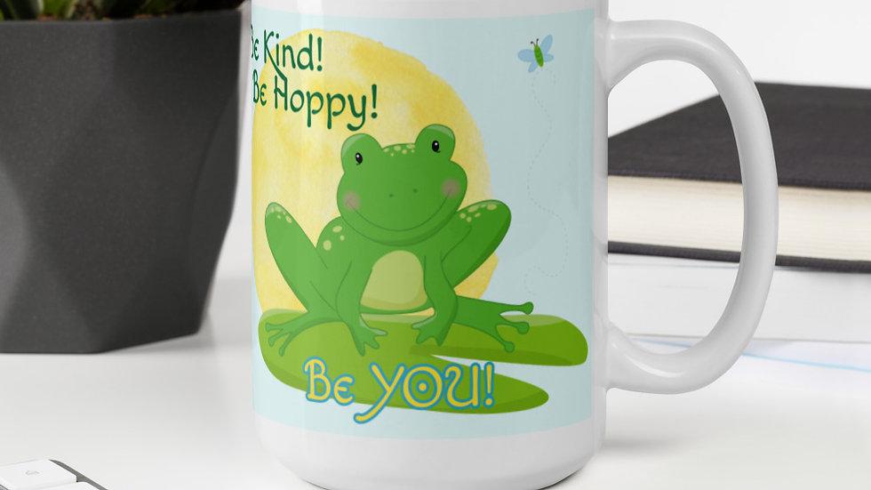 Be Hoppy Frog Mug