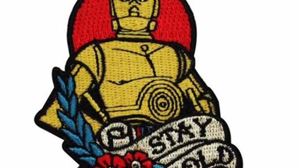 C-3PO Stay Gold Patch