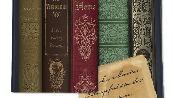 "Victorian ""Books"" Journal"
