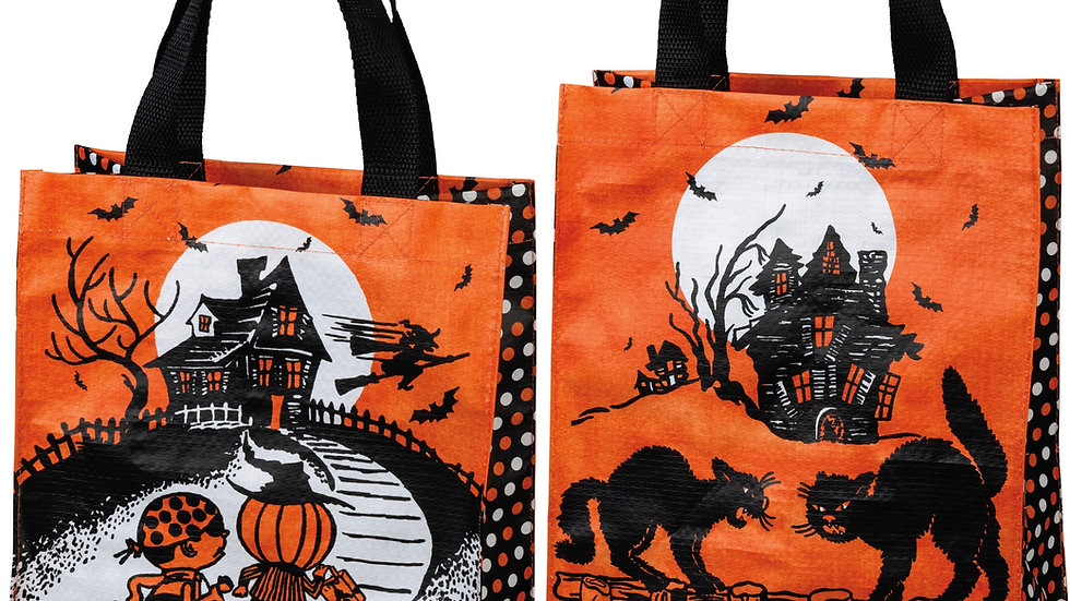 Trick or Treat Vintage Inspired Tote