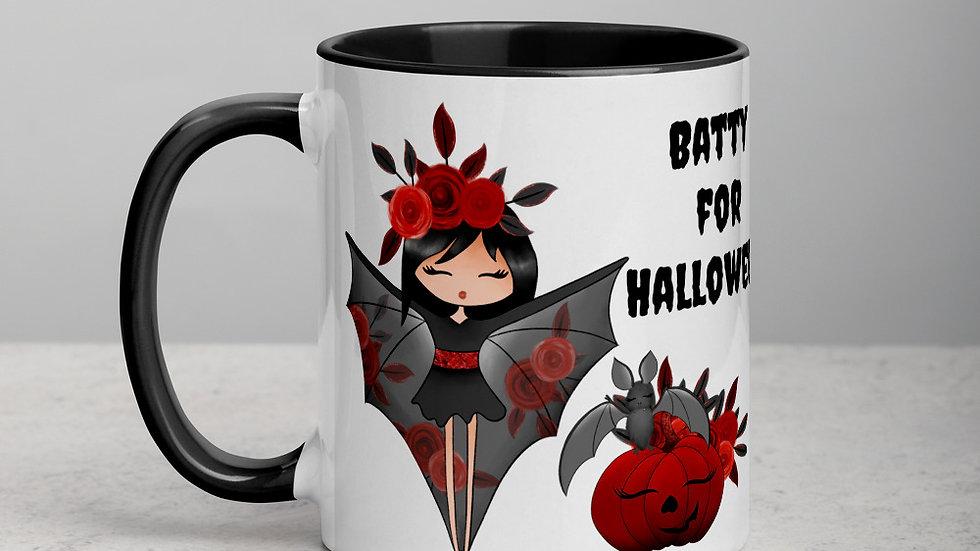 Batty for Halloween Mug