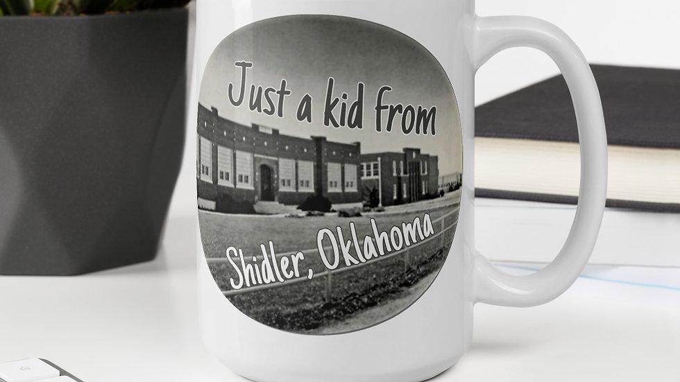 Just a Kid from Shidler, OK Mug