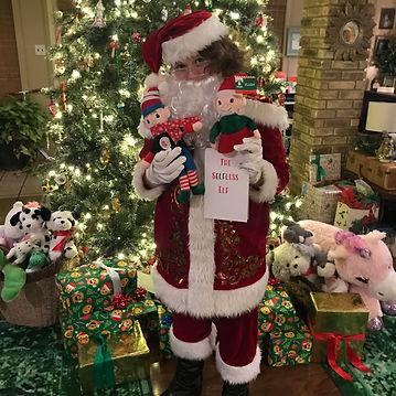 Santa Jr with Selfless Elf
