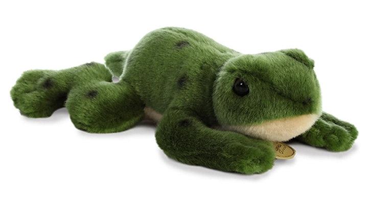 Frog Laying Plush