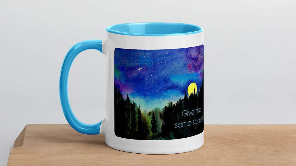 Give Me Some Space Color Mug