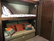 Bunk Two with Pull Out Full Bed