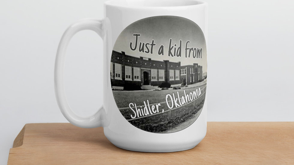 Just a Kid from Shidler, OK Mug