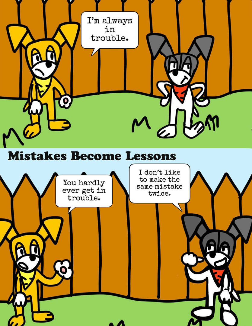 Mistakes Become Lessons