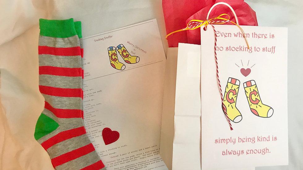 Christmas Socks Kindness Kit Gift