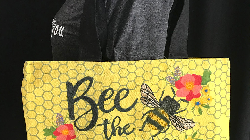 Bee the Change You Want to See Tote