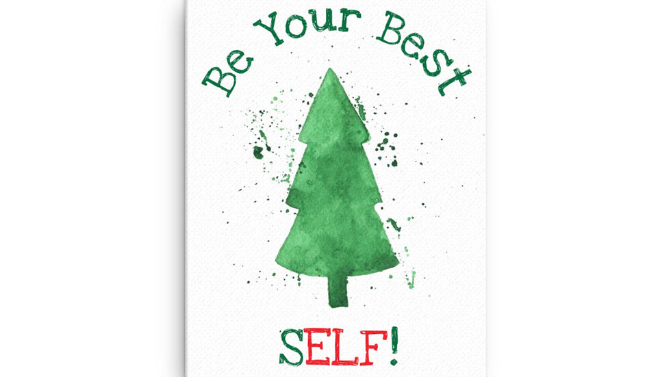 Be Your Best SELF Canvas