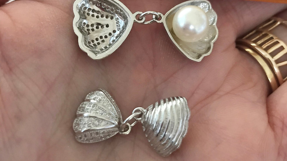 Oyster & Pearl Charms