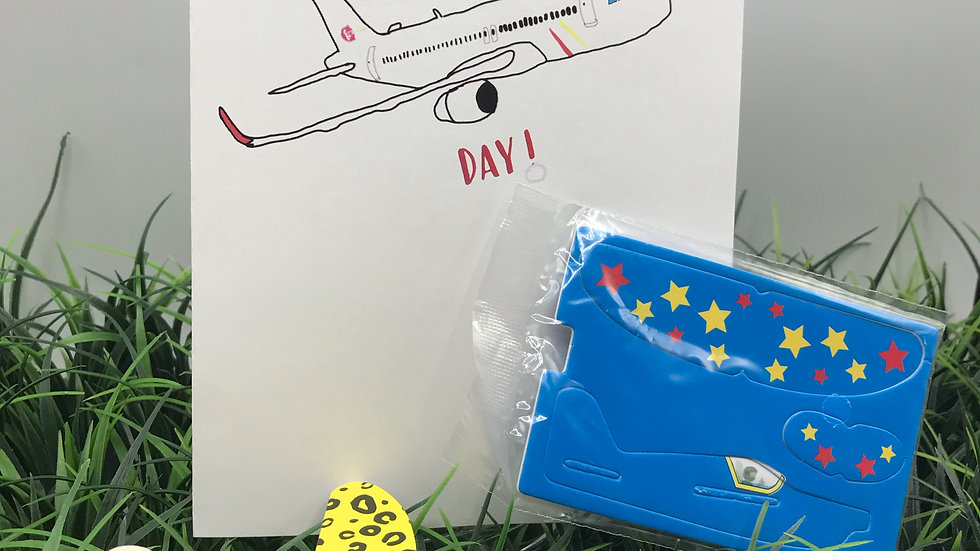 High Flying Day Airplane Kit