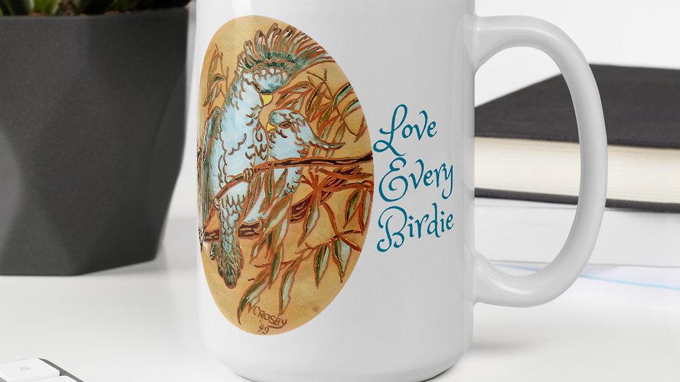 Love Every Birdie Mug