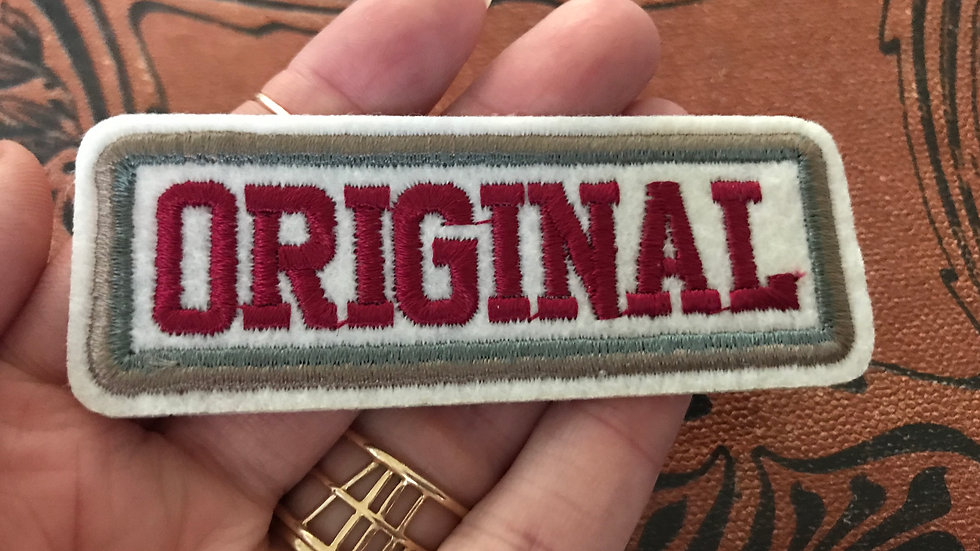 Original Patch