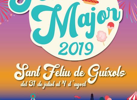 Presentat el cartell de la Festa Major de Sant Feliu de Guíxols 2019