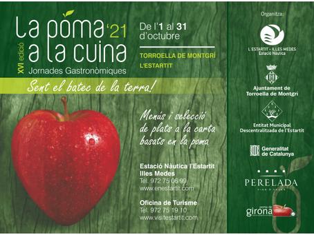 A l'octubre, les pomes tornen a la tauladels restaurants de Torroella i l'Estartit
