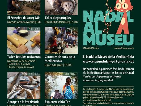 El Museu de la Mediterrània promou les activitats familiars per Nadal