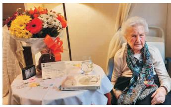 Dolors Puig Ribot és la palamosinade més edat amb 107 anys