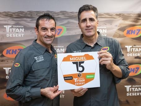 Miguel Indurain es prepararà per a la Garmin Titan Desert 2020 a Lloret de Mar
