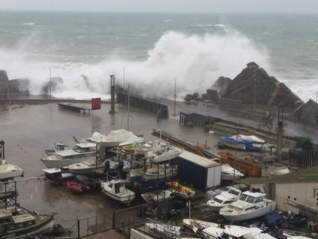 L'Ajuntament de Palamós quantifica en 1,5 milions d'euros els desperfectes del temporal Gloria