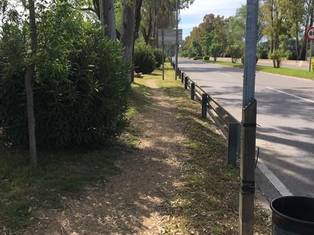 Palafrugell intensifica tasques de desbrossament i neteja de tots els espais públics i zones verdes