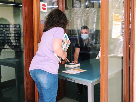 La Biblioteca de Palafrugell supera el centenar de préstecs en la seva primera setmana de reobertura