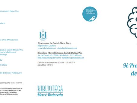 9è Premi Jordi Comas de Recerca Local 2020