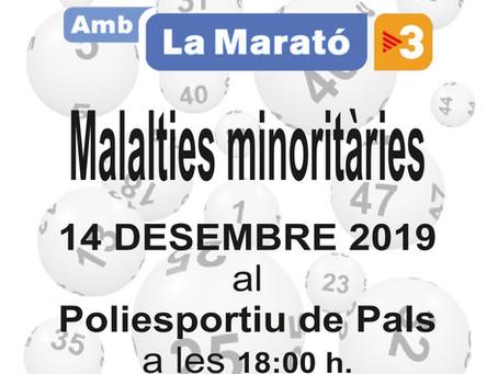 Pals participarà en la Marató de TV3 amb una Gran Quina Solidària