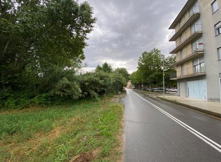 Comencen les obres de la nova estació d'autobusos dela Bisbal d'Empordà
