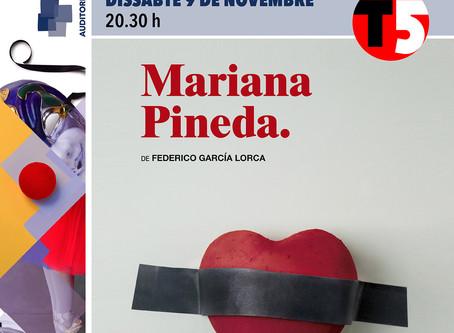 Laia Marull protagonitza Mariana Pineda de Federico García Lorca a l'Espai Ter