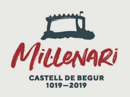 Ajornada la festa de clausura del Mil·lenari del Castell de Begur